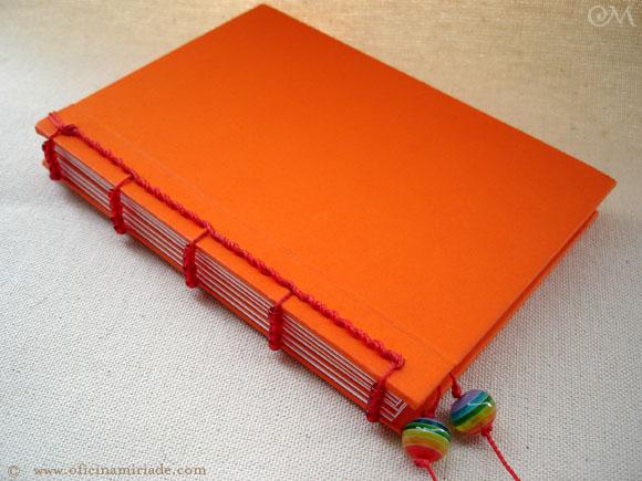 Foto do caderno